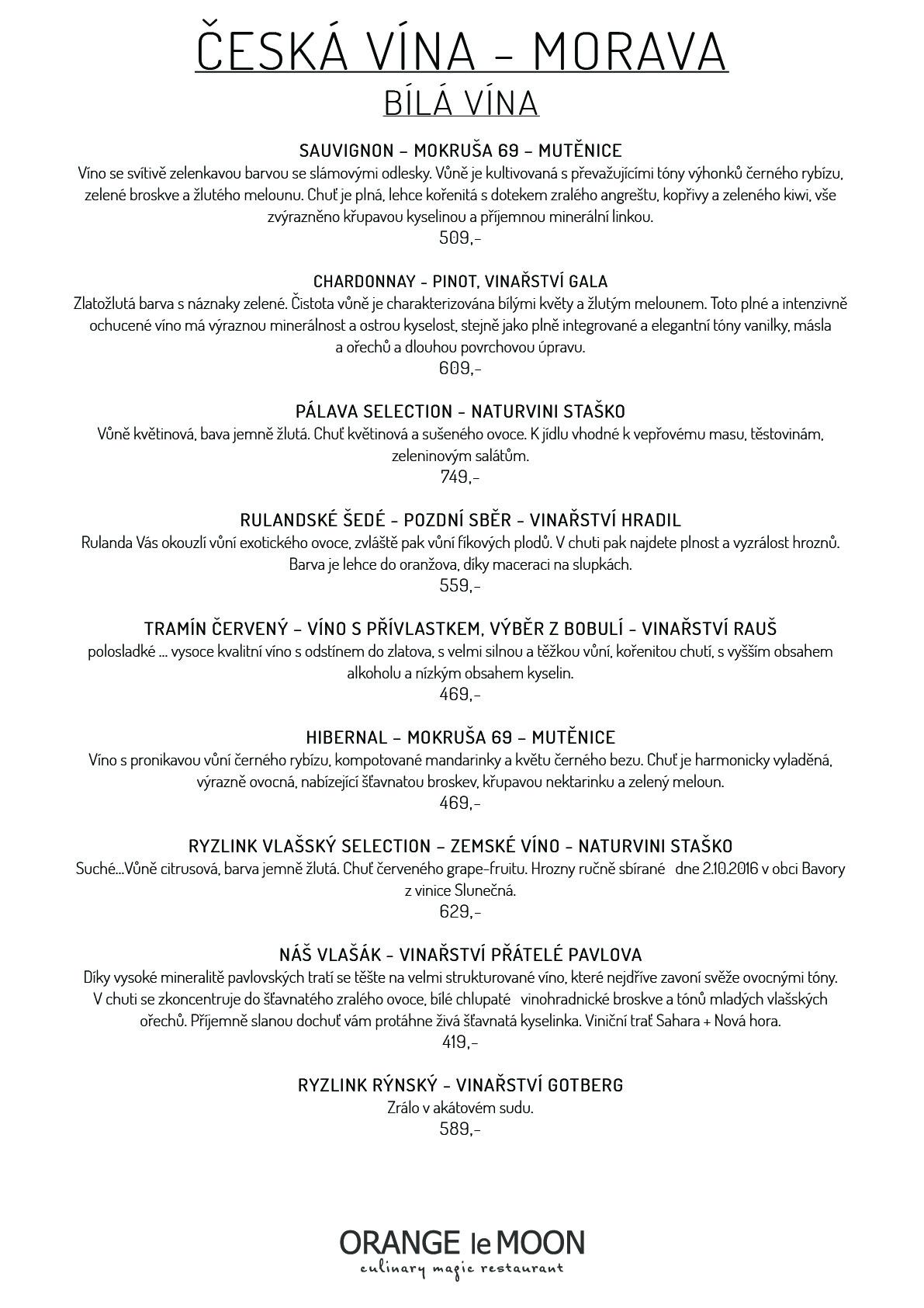 Orange le Moon: Restaurace Špindlerův Mlýn
